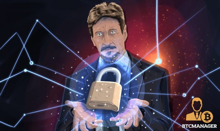 mcafee-returns-john-mcafee-is-now-a-crypto-security-startup-adviser